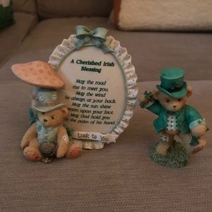 Irish Cherished Teddies set of 2